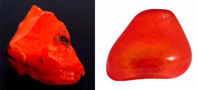 Cornalina roja, Piedras y Gemas para el chakra Raíz